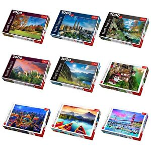 Trefl 2000 pc Jigsaw Puzzle Games City Scenery Building Skyline Nature Landmarks