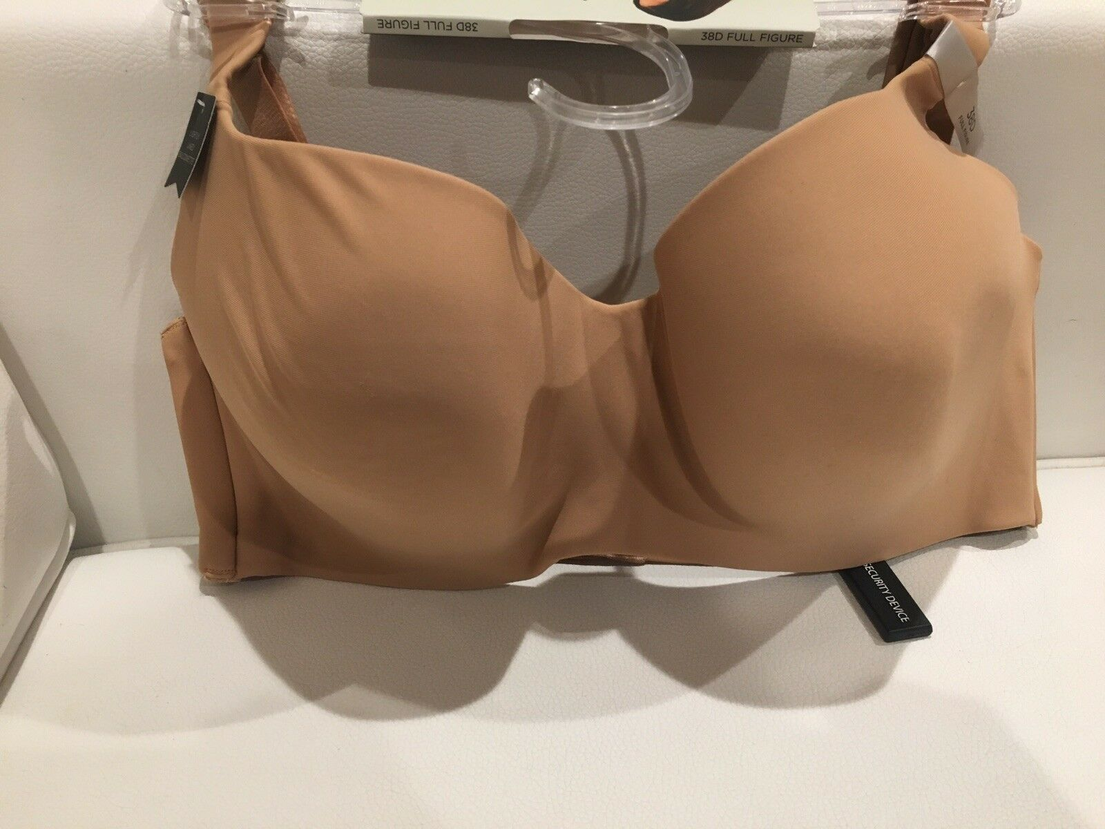 Lightly Lined Balconette Bra Tan Size 40D By Ambrielle