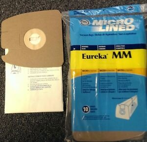 40 Vacuum Bags For Eureka Mm Amp Sanitaire Mighty Mite Mm