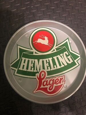 HEMELING LAGER Advertising tray Retro