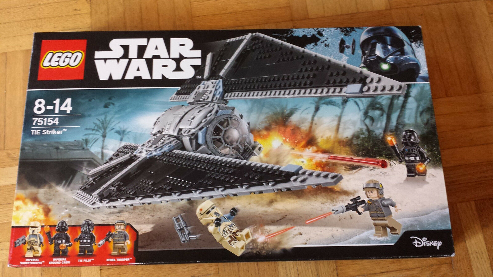 LEGO Star Wars TIE Striker (75154). Neu. OVP.