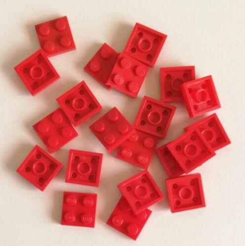 LEGO 20x Piastra 2x2 ROSSO 3022 Lotto Spedizione Gratis Su Acquisti!
