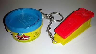 Hasbro Mini Playdoh Toy Keychain Set from 1997