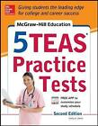 McGraw-Hill Education 5 TEAS Practice Tests by Kathy A. Zahler (Paperback, 2014)