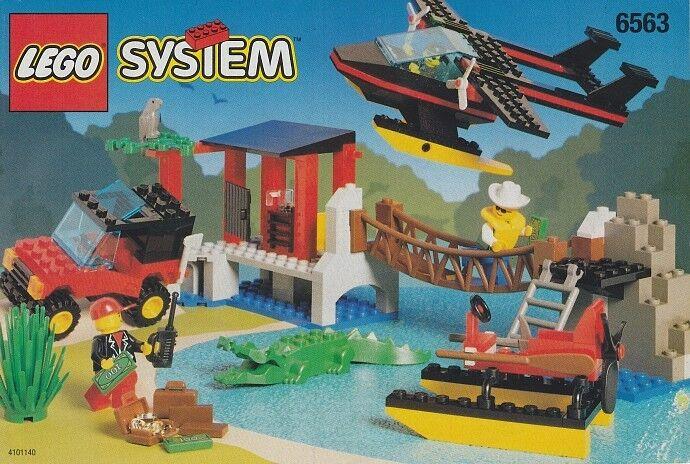 Lego Classic Town 6563 Gator Landing nouveau Sealed Seaplane Airboat   pas cher et de haute qualité