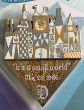 Disneyland 60th Diamond It's a Small World Trading Board Game Completer Pin