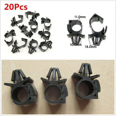 20X Plastic Wiring Harness Fastener For Car Corrugated Pipe Tie Wrap Cable  Clamp | eBayeBay