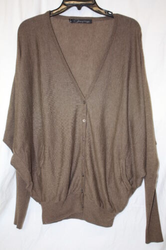 Marrone Kincaid Poncho Maglione Down Donna Button Patterson Originals M J b131 5xIwqHptt