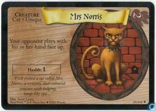Norris 29//116 Harry Potter TCG Base Set Mrs
