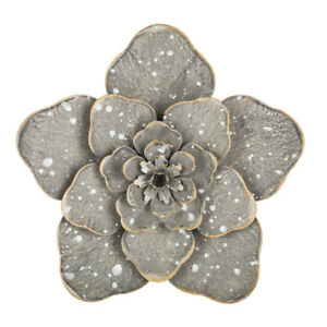 Speckled-Flower-Metal-WALL-ART-HOME-DECOR-Free-Shipping