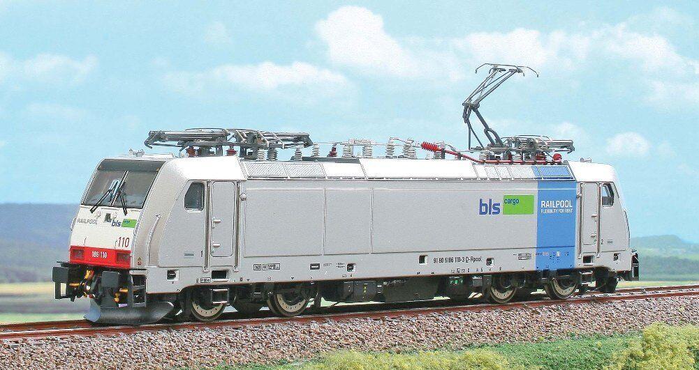 HS ACME ac60404 Elektrolok serie siano 186 110-3 della RAILPOOL, a BLS Cargo
