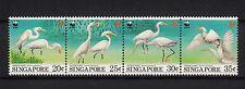 103867/ Singapur 1993 - Mi 705/8 - China-Seidenreiher / WWF - **