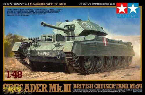 Crusader Mk.III - British Cruiser Tank Mk. IV - 1:48 - Tamiya 32555