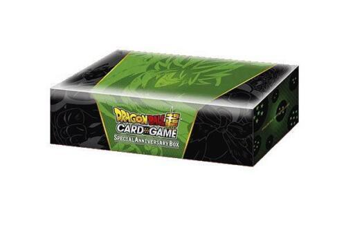 Special Anniversary Box DragonBall Super Card Game Brand Ne Broly Design