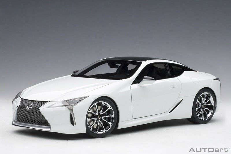 78846 Lexus LC 500 (Metallic blanc) (Composite Model Full Openin, 1 18 AUTOart