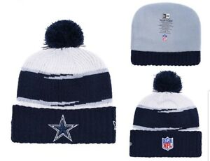 7d693b3f Details about 2018 Dallas Cowboys New Era NFL Knit Hat On Field Sideline  Beanie Hat