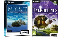 myst masterpiece edition & enlightenus   new&sealed