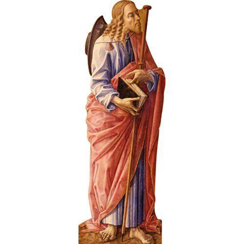 H48015 Saint James Son of Zebedee Cardboard Cutout