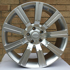 "20 ""Stormer HYPER SILVER RUOTE IN LEGA E PNEUMATICI RANGE ROVER SPORT LAND ROVER VOUGE"