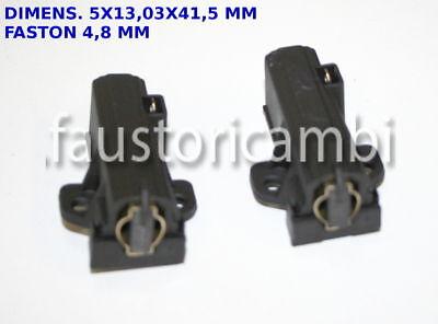 Compatibile Zanussi Electrolux AEG Spazzole Di Carbone /& Titolari UNICO MOTORE CONFEZIONE da 2