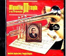 MIGUELITO MIRANDA SU ORQ. 50 AÑOS - SANTOS COLON-CD