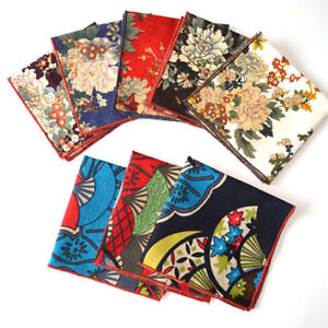 Men-Classic-Japan-Style-Floral-Handkerchief-Pocket-Square-Wedding-Party-Hanky