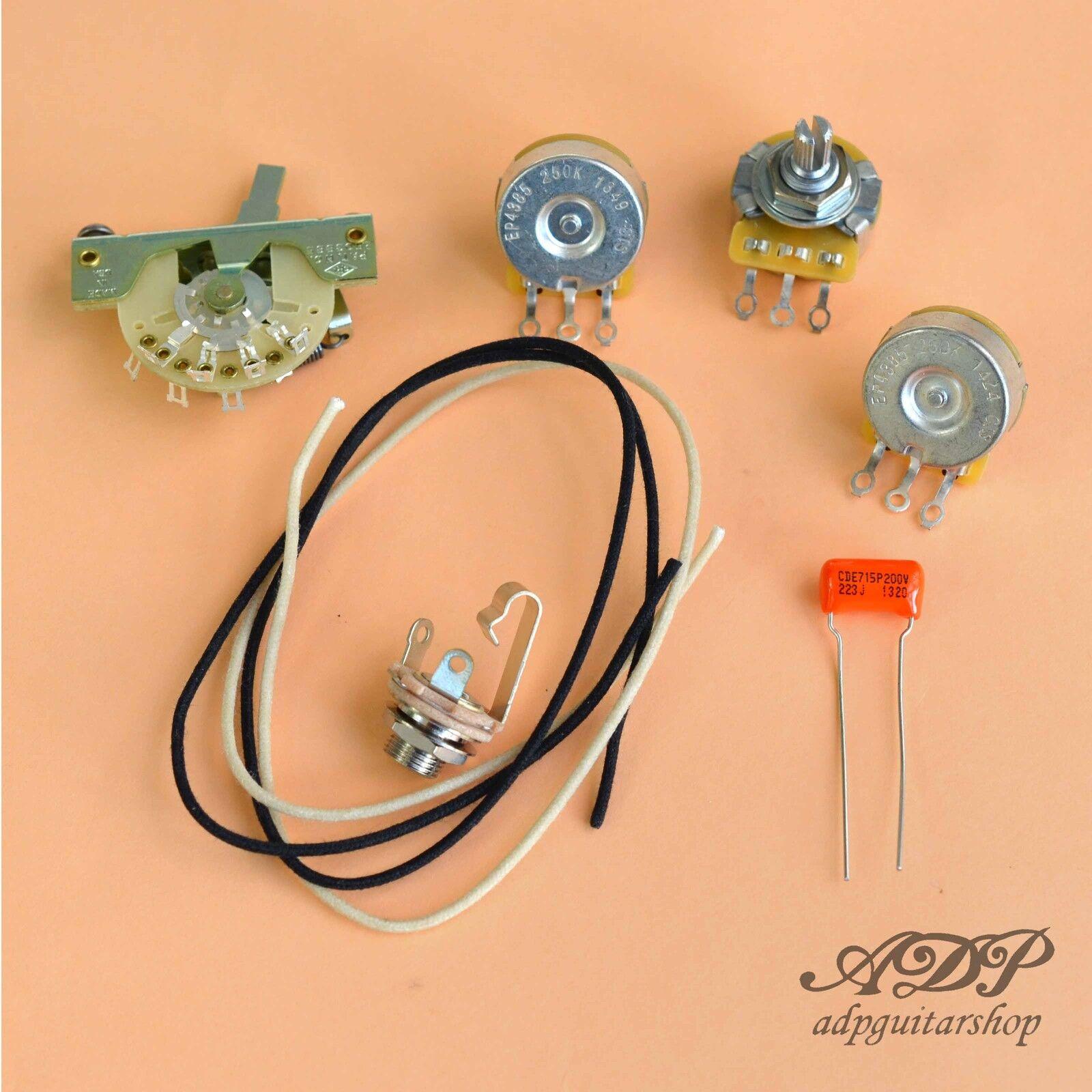 Verdrahtung Satz Stil Stratocaster Komponenten nicht Kabel für Steuerung Strat