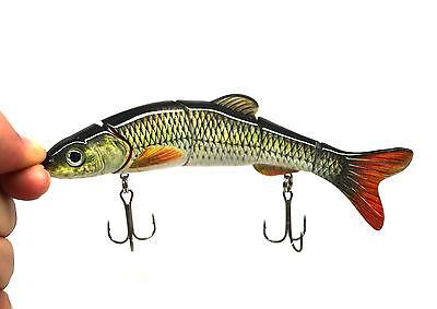 "Multi-section Fishing Lure Crank Bait Swimbait Bass Shad Dace 6-1/4""&1.2oz NEW"