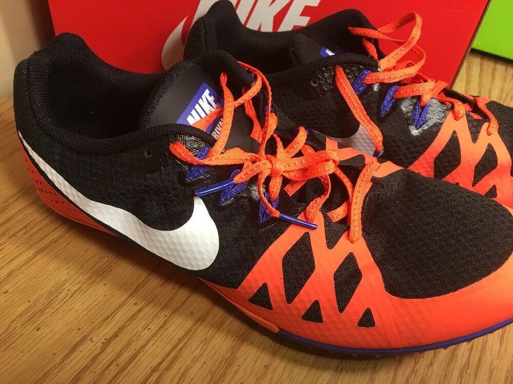 Nike dimensioni zoom rivale m 8 tracce scarpe Uomo dimensioni Nike 13 nero arancione 806555-804 d7d07f