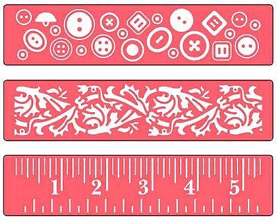 Zig Zags /& Flowers Set Sizzix A2 Embossing Folders 2PK Dots 658846