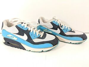 9197b66db693 Nike Air Max White-Chlorine Blue Size 12 (309299-129) Good Condition ...
