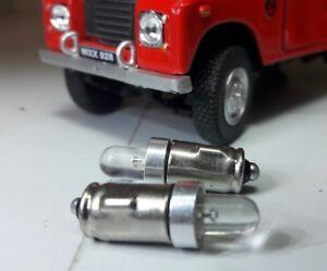 24V LED Lucas BA7s Warning Dashboard Gauge Smiths Bulbs Bright White Bulbs Lamps