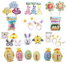 Easter Bonnet Decoration DIY Trilby Decoration Bunny Chicks Feathers UK