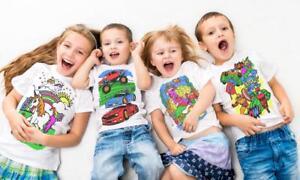 1f37298a Splat Planet Colour In T-Shirt Children Boys Superhero Football ...
