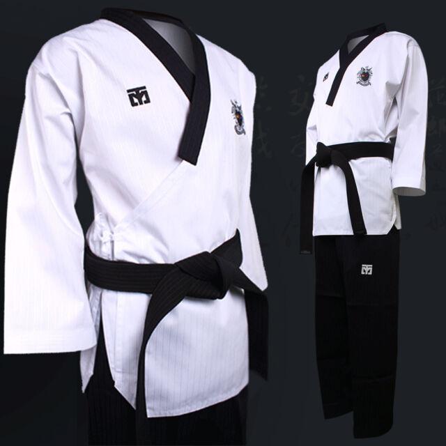 Taebek Poomsae Dan Male Uniform Mooto Premium Pro Taekwondo TKD Suits Dobok MMA