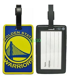 Image Is Loading Nba Golden State Warriors Soft Luggage Bag Tags