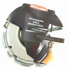 ROTAREX RC 115MM SHAPING ANGLE GRINDER DISC CARBON STEEL PROFESSIONAL QUALITY