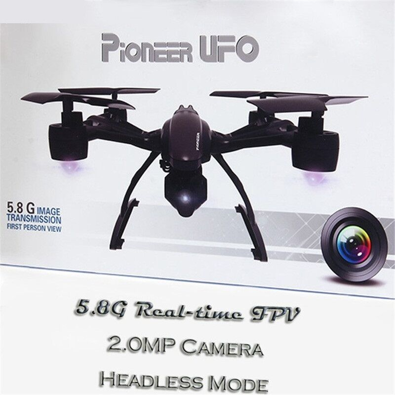 Drone with Camera FPV RC Quadcopter High Hold Mode Hd Video Helicopter 2.0MP Nuovo