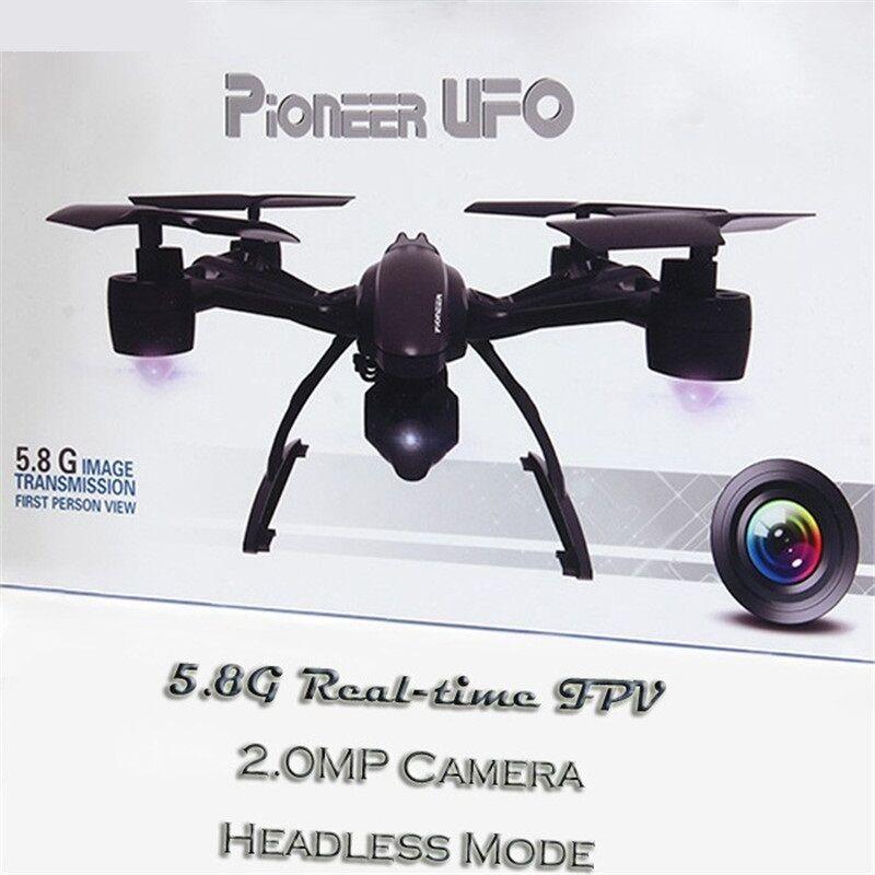Drone con Cámara FPV RC Quadcopter Helicóptero de vídeo HD de modo de retención de alta 2.0MP Nuevo