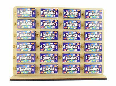 Smarties Mini boîtes Chocolat titulaire de Noël de l/'Avent Calendrier Garçon Fille Xmax