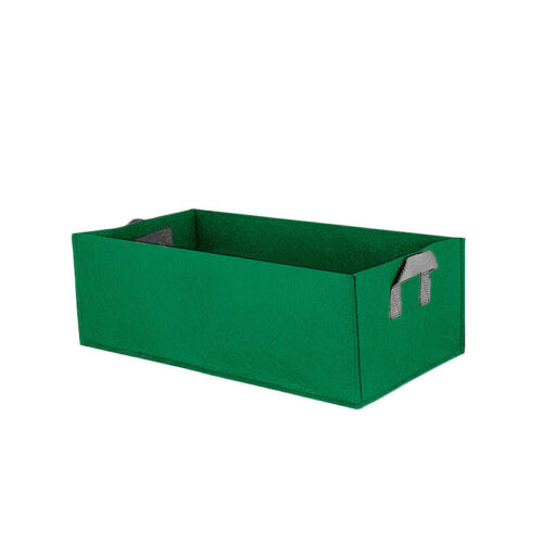 Square Fabric Grow Bag Pot Bags Garden Planting Bags With Green Hand