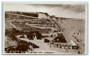 Postcard Alum Chine Bournemouth Dorset real photo