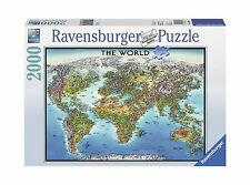 Ravensburger World Map Jigsaw Puzzle 2000piece eBay