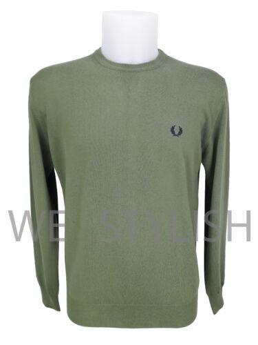 l Uomo Fred xl M Crewneck Sweater Cotone Perry Maglioncino Man Light xxl Cotton AAwvB6q