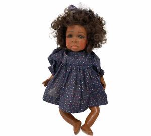 VTG Janada Resin Artist Doll Tina Bennett Lulabelle 1994 African American 81/300
