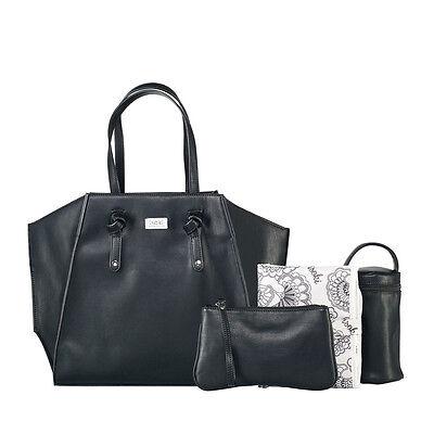 NEW Isoki Easy Access Nappy Bag - Black
