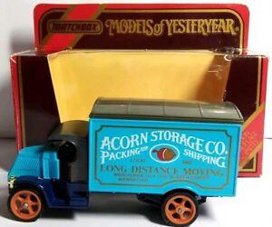 MATCHBOX-Models-OF-YESTERYEAR-1920-modello-AC-MACK-Acorn-di-archiviazione-co-Y30
