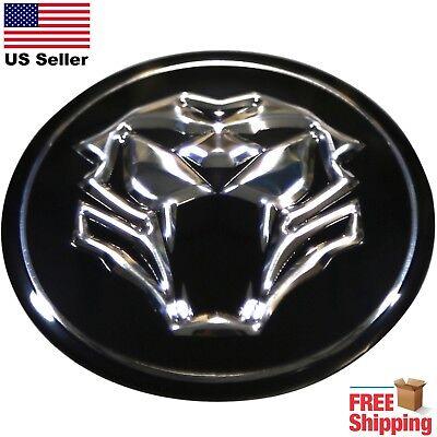 "DOME SHAPE 3D Metal Thundercat Cat Face Auto Sticker Decal Emblem 2.20/"""