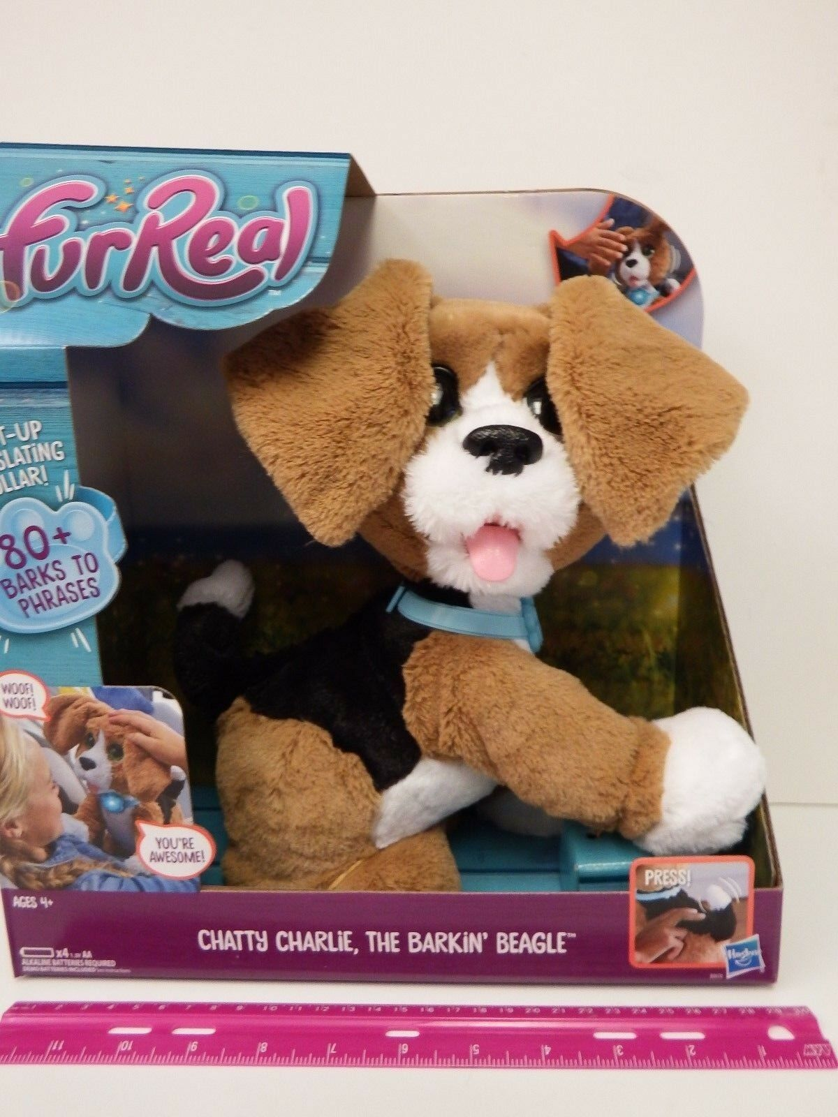 FurReal Friends -  CHATTY CHARLIE  - The Barkin' Beagle - Ages 4 & up