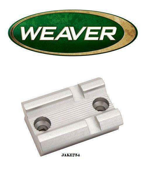 Weaver 46S Detachable Top Mount Mauser Rear//Savage//Winchester Scope Base # 48004
